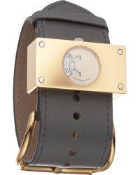 Balenciaga - Montre Acier Grey Watch - Lyst