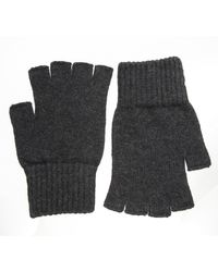 Barneys New York Fingerless Gloves - Lyst