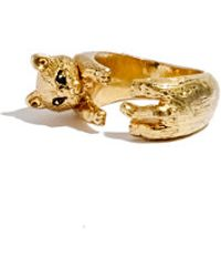 Madewell Cat Ring - Lyst
