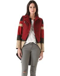 Rag & Bone Biker Tailcoat with Vest - Lyst