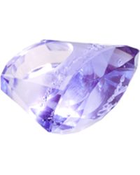 Ted Baker -  Acrylic 'Youre A Gem' Ring - Lyst