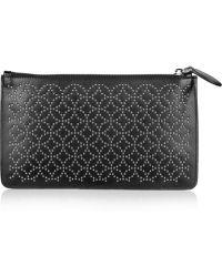 Alaïa - Studded Leather Pouch - Lyst