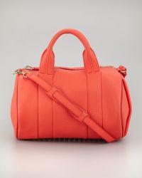 Alexander Wang Rocco Studbottom Duffel Bag  - Lyst