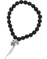 Chan Luu - Diamond and Horn Beaded Bracelet - Lyst