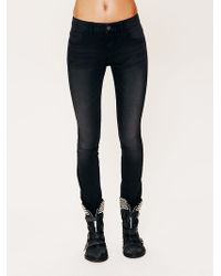 Free People Lightweight Stretch Skinnies - Lyst