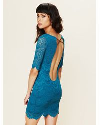 Free People Spanish Lace Priscilla Dress - Lyst