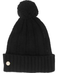 Marc By Marc Jacobs - Ilona Wool and Cottonblend Pompom Beanie - Lyst