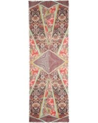 Matthew Williamson Romany Printed Modal and Cashmereblend Scarf - Lyst