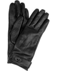 Mulberry   Bayswater Cashmerelined Leather Gloves   Lyst