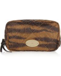 Mulberry - Rosie Tigerstriped Cosmetics Case - Lyst