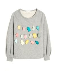 Vika Gazinskaya - Multicolor Stone Sweatshirt - Lyst