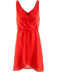 H&M Dress orange - Lyst