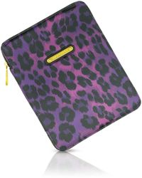 Juicy Couture - Leopard Print Ipad Case - Lyst