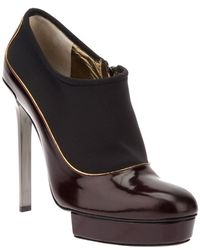 Lanvin Twotone Stiletto Pump - Lyst