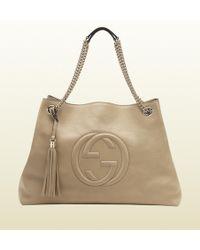 Gucci - Soho Leather Shoulder Bag - Lyst