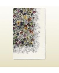 Gucci Flora Infinity Print Lightweight Stole - Lyst