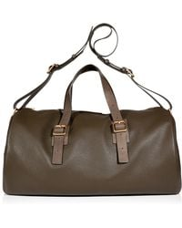 Marc By Marc Jacobs  Textured Leather Duffle Bag - Lyst