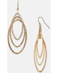 Argento Vivo Drop Earrings - Lyst