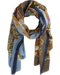 Epice - Floral Scarf - Lyst