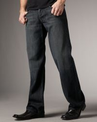 7 For All Mankind Montana Relaxed Jeans - Lyst