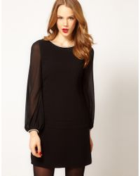 Coast Black Jewel Dress - Lyst