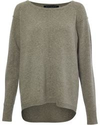 French Connection Vhari Knitted Jumper - Lyst