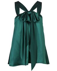 Prabal Gurung Sleeveless Blouse - Lyst