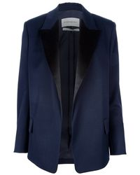 Saint Laurent Open Blazer - Lyst