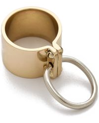 A.L.C. - Bondage Ring in Brass - Lyst