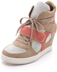 Ash Coca Wedge Sneakers - Lyst