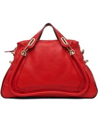 Chloé Paraty Handbag in Hollyberry - Lyst