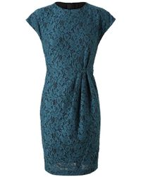 L'Wren Scott Cotton Lace Tea Dress - Lyst