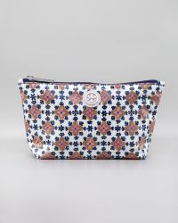 Tory Burch Floral Printed Cosmetic Case - Lyst