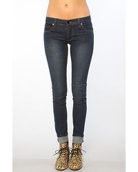 Cheap Monday The Tight Super Stretch Jean in Blue blue - Lyst