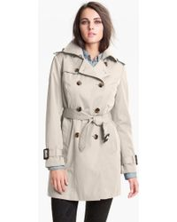 London Fog Heritage Trench Coat With Detachable Liner beige - Lyst