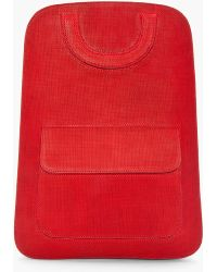 Maison Martin Margiela Flat Basket Weave Backpack - Lyst