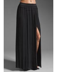 BCBGMAXAZRIA Maxi Skirt - Lyst