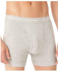 Calvin Klein Cotton Stretch Two Pack Boxer Briefs - Lyst