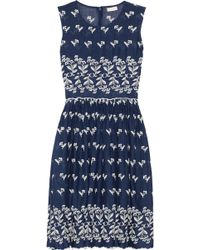 Collette by Collette Dinnigan - Embroidered Cotton Dress - Lyst