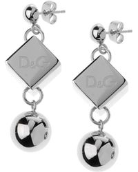 D&G Earrings silver - Lyst