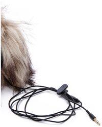 Juicy Couture | Faux Fur Earmuff Headphones | Lyst