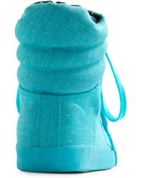ModCloth - Betsey Johnson Youre My Shoe Blue Sneaker - Lyst