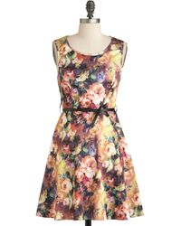 ModCloth Plein Air Painting Dress - Lyst