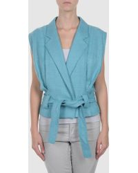 RED Valentino Jacket blue - Lyst