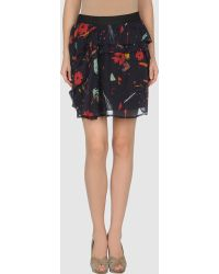 See By Chloé Knee Length Skirts multicolor - Lyst