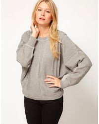 ASOS Collection Asos Exaggerated Sleeve Jumper - Lyst