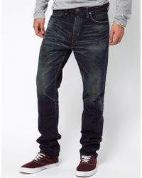 Edwin Jeans Japanese Selvedge Slim Tapered blue - Lyst