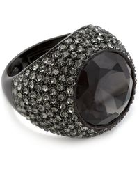 Juicy Couture - Gemstone Cocktail Ring - Lyst