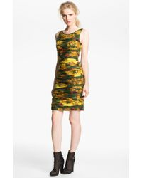 Rachel Zoe Maddy Ruched Silk Dress - Lyst