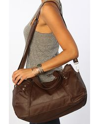 Nixon The Patrol Low Slung Hobo Bag in Chocolate - Lyst